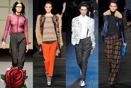 Módní dámské kalhoty podzim – zima 2018-2017  54da76882d