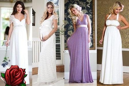 a4a0a041e617 Svadobné šaty pre tehotné ženy 2017